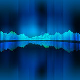 Music equalizer background Stock Image