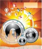 Music Equalizer Background Stock Image