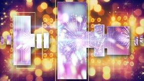 Music equalizer christmas background Stock Photo