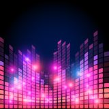 Music equalizer Royalty Free Stock Images