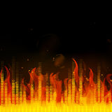 Music Equalizer Royalty Free Stock Photos