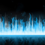 Music Equalizer Stock Photography