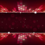 Music Equalizer Party Background Stock Photography