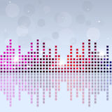 Music Equalizer Party Background Stock Image