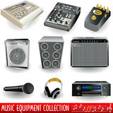 Music equipment Royalty Free Stock Photo