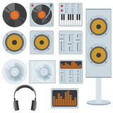Music equipment. Stock Photo