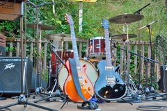 Music equipment. Royalty Free Stock Images