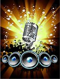 Music Event Background Stock Photography