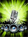 Music Event Background vector illustration