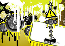 Music Event Background Royalty Free Stock Image