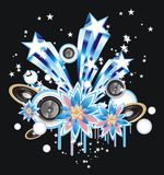 Music event background Royalty Free Stock Images
