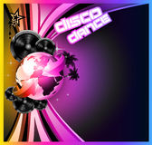 Music Event Background for Disco Flyers. International Music Event Background for Disco Flyers Royalty Free Illustration