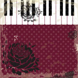 Music event piano template. Background with piano keys. Piano ke Stock Photo