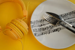 Music is Everywhere Lifestyle Concept Royalty Free Stock Photography