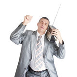 Music fan Stock Photography