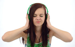 Music fascination Royalty Free Stock Photography