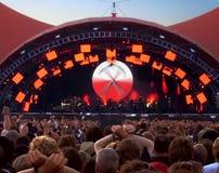 Music Festival 1. Music festival at Roskilde in Denmark 2006 royalty free stock images