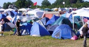 Music Festival 2. Music festival at Roskilde in Denmark 2006 stock photo
