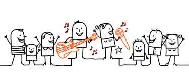 Music festival ! Royalty Free Stock Photo