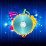 Music festival background Stock Image