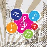 Music festival background design. Illustration music festival background design Stock Photo