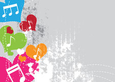 Music festival background design. Illustration music festival background design Royalty Free Stock Images