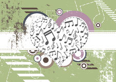 Music festival background design Stock Image