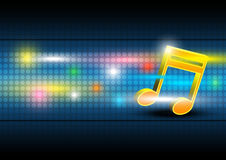 Music festival banner. Background design Stock Photography