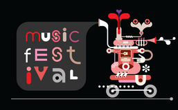 Music Festival banner Royalty Free Stock Image