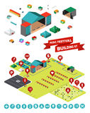 Music Festival Building Kit Stock Photos
