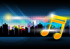 Music festival in the city Royalty Free Stock Images