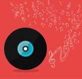 Music festival design. Stock Image