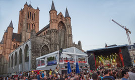 Music festival Ghent Fest Stock Photo