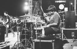 Music festival Pattaya beach resort. Stock Images