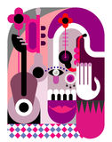 Music Festival Poster Royalty Free Stock Images