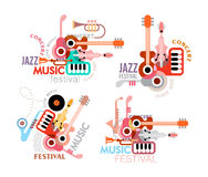 Music Festival Poster Stock Photography