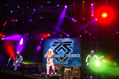 Music festival Topfest 2015, Piestany, Slovakia Royalty Free Stock Images