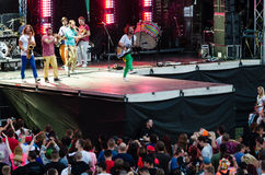 Music festival Topfest 2015, Piestany, Slovakia Stock Images