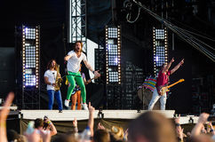 Music festival Topfest 2015, Piestany, Slovakia Stock Image
