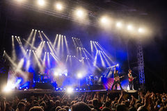 Music festival Topfest 2015, Piestany, Slovakia Stock Photography
