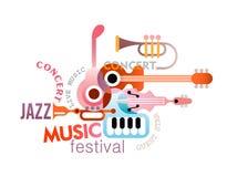 Music Festival Design Stock Image
