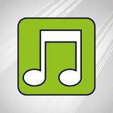 Music file  design. Illustration eps10 graphic Royalty Free Stock Photo