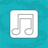 Music file  design. Illustration eps10 graphic Stock Photo
