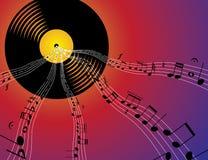 Music flow Stock Photos