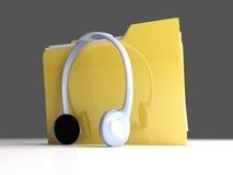 Music Folder Royalty Free Stock Photos