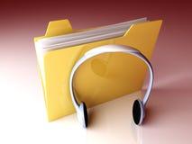 Music Folder Stock Photos