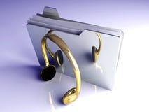 Music Folder Stock Images