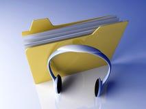 Music Folder Stock Photography