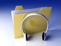 Music Folder Royalty Free Stock Image
