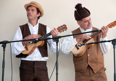 Music and folklore Stock Images